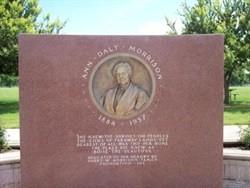 ann morrison park plaque
